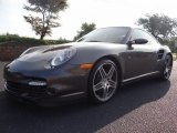 2008 Slate Grey Metallic Porsche 911 Turbo Coupe #134228796
