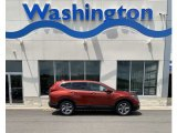 2019 Basque Red Pearl II Honda CR-V EX-L #134228895