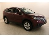 2013 Basque Red Pearl II Honda CR-V EX AWD #134247548