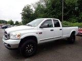 2008 Bright White Dodge Ram 3500 ST Quad Cab 4x4 #134247466