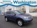 2014 Twilight Blue Metallic Honda CR-V EX-L AWD #134247419