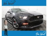 2017 Shadow Black Ford Mustang EcoBoost Premium Coupe #134247527