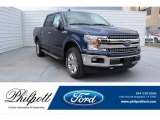 2019 Blue Jeans Ford F150 Lariat SuperCrew 4x4 #134267040