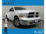 2010 Stone White Dodge Ram 1500 SLT Crew Cab 4x4 #134247320