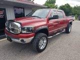 2007 Inferno Red Crystal Pearl Dodge Ram 1500 SLT Mega Cab 4x4 #134289627