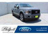 2019 Abyss Gray Ford F150 XL SuperCrew #134289536