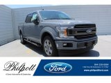 2019 Abyss Gray Ford F150 XLT SuperCrew #134289533