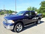 2012 True Blue Pearl Dodge Ram 1500 Big Horn Crew Cab 4x4 #134289493