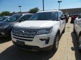 2019 White Platinum Ford Explorer XLT 4WD #134289614