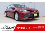 2019 Ruby Flare Pearl Toyota Camry LE #134304310