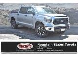2019 Silver Sky Metallic Toyota Tundra SR5 CrewMax 4x4 #134304189