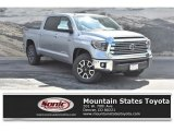 2019 Silver Sky Metallic Toyota Tundra Limited CrewMax 4x4 #134304184