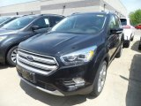 2019 Agate Black Ford Escape Titanium 4WD #134304393