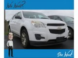 2010 Summit White Chevrolet Equinox LS #134323259