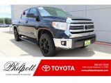 2017 Midnight Black Metallic Toyota Tundra SR5 CrewMax #134323235