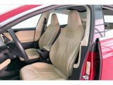2013 Tesla Model S P85 Performance Front Seat