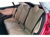 2013 Tesla Model S P85 Performance Rear Seat