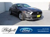 2016 Avalanche Gray Ford Mustang V6 Coupe #134337735