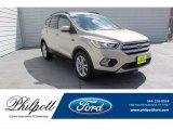 2018 White Gold Ford Escape SE #134337744