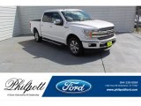 2018 White Platinum Ford F150 Lariat SuperCrew #134337740