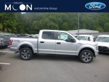 2019 Ingot Silver Ford F150 XL SuperCrew 4x4 #134337701