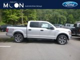 2019 Ingot Silver Ford F150 XL SuperCrew 4x4 #134337700