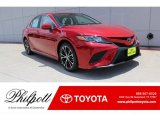 2019 Supersonic Red Toyota Camry SE #134379025