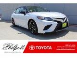 2019 Midnight Black Metallic Toyota Camry XSE #134379023