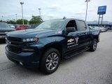 2019 Northsky Blue Metallic Chevrolet Silverado 1500 RST Crew Cab 4WD #134394499