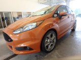 2019 Ford Fiesta Orange Spice Metallic