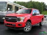 2019 Race Red Ford F150 XLT SuperCrew 4x4 #134404543