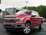 2019 Ruby Red Ford F150 Lariat SuperCrew 4x4 #134404541