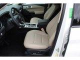 2020 Ford Explorer Limited 4WD Sandstone Interior