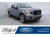 2019 Abyss Gray Ford F150 XL SuperCrew #134420275