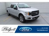 2019 Ingot Silver Ford F150 XLT SuperCrew #134420273