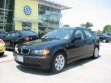 2004 Jet Black BMW 3 Series 325i Sedan #13441222