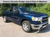 2019 Patriot Blue Pearl Ram 1500 Big Horn Quad Cab 4x4 #134442664
