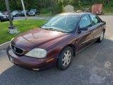 2000 Toreador Red Metallic Mercury Sable LS Premium Sedan #134461292