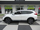 2017 White Diamond Pearl Honda CR-V Touring #134461195