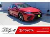 2019 Supersonic Red Toyota Camry SE #134461166