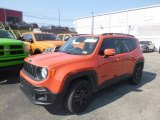 2018 Omaha Orange Jeep Renegade Latitude 4x4 #134461154