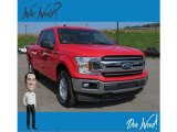 2019 Race Red Ford F150 XLT SuperCrew 4x4 #134486681
