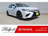 2019 Wind Chill Pearl Toyota Camry XSE #134486645