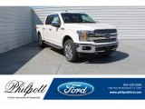 2019 White Platinum Ford F150 Lariat SuperCrew 4x4 #134486642