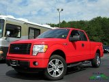 2014 Race Red Ford F150 STX SuperCab 4x4 #134520346