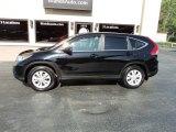 2012 Crystal Black Pearl Honda CR-V EX 4WD #134541753