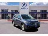 2012 Twilight Blue Metallic Honda CR-V EX-L #134559825