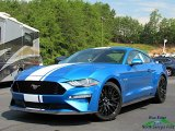 Velocity Blue Ford Mustang in 2019