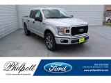2019 Ingot Silver Ford F150 STX SuperCrew 4x4 #134577069