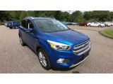 2017 Lightning Blue Ford Escape Titanium 4WD #134577131